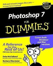 Photoshop 7 For Dummies McClelland, Deke, Obermeier, Barbara Paperback