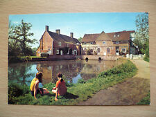 057 no. Postcard: FLATFORD MILL, Suffolk