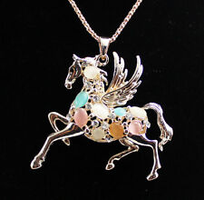 New fashion beautiful   horse necklace Christmas gift k305
