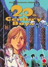 20TH CENTURY BOYS 10 RISTAMPA - PLANET MANGA PANINI - NUOVO