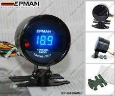 "Epman RACING 52MM 2 ""ANALOGICO DIGITALE LED rapporto aria / carburante Gauge Meter"