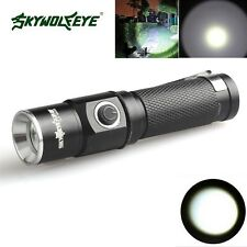 3500 Lumen 3 Modes CREE XML T6 LED Flashlight Lamp Fit 14500 Pocket Size Light