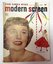 Modern Screen Magazine  May 1950   June Allyson Cover