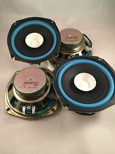 "2 Pair 5"" 1/4 inch Quality Dual Cone Car Audio  Replace or project ? Speakers"