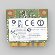 AR5B22 AR9462 WiFi Dual Band 2.4GHz 5GHz 300Mbps Bluetooth 4.0 Half Mini PCI-e