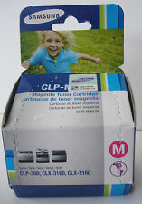 Samsung CLP-M300A Genuine Magenta Toner Cartridge CLP-300 CLX-3160 CLX-2160 NEW