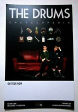"The Drums *Encyclopedia* Promotional 11""x17"" Poster Portamento RARE Collectible"
