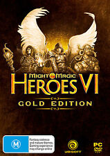 Might & Magic: Heroes VI 6 Gold Edition PC 100% Brand New