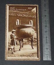 CHROMO SUCHARD 1933 COLONIES INDOCHINE N°226 HUé ANNAM URNE DYNASTIQUE ANNAMITE