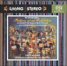 SEALED LIVING STEREO MUSSORGSKY PICTURES AT AN EXHIBITION MCh SACD Fritz Reiner