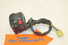 06-07 SUZUKI GSXR 600 GSX-R 750 LEFT CLIP ON HANDLE HORN SIGNALS SWITCH SWITCHES
