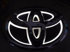 5D LED Car Logo White Light for Toyota Rav4 2011 New Reiz Prado Auto Badge Light