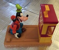 Disney's GOOFY BOWLING, ACTION GUMBALL MACHINE by Carousel Toys - Works!