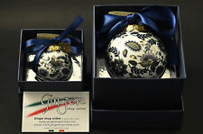 Palla di Natale in porcellana - Christmas Ball Ornaments (Made in Italy)