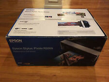 Epson Stylus Photo R2000 Wireless Wide-Format Color Inkjet Printer (for repair)