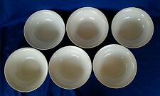 """6-Mainstays Home Large 9"""" White Vegetable Bowls *New/ Unused /Exc"""