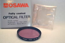Osawa 55 mm NEW FL-W Screw-In Filter with Pouch and Box Made in Japan (M67)