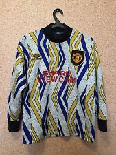 RARE Manchester United ENGLAND 1993/1995 GOALKEEPER FOOTBALL SHIRT JERSEY UMBRO