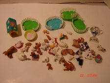 LOT PUPPY IN MY POCKET HASBRO MEG TOYS ANIMAL FIGURES DOGS CATS RABBIT SWAN