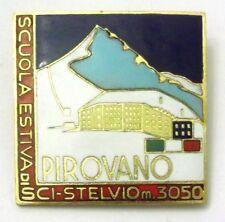 Spilla Pirovano Scuola Estiva Di Sci Stelvio M.3050 (Bertoni Milano)