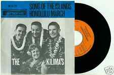 the KILIMA'S HAWAIIANS - Song of the Island (1964) -  Holland, Artone PS 45