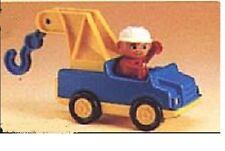 Lego Duplo Auto  Abschleppwagen Pannenhilfe  2617 Fahrer Figur Kran