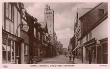 Gaskell Monument King Street Knutsford RP old pc used Grenville