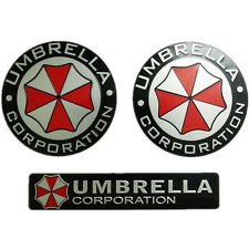 Metal 3D Resident evil Umbrella corporation car Badge Emblem Car sticker