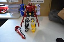 "Power Rangers Mega Force Great Gosei Megazord Zord Builder Set 9"" Tall"
