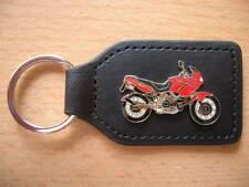 Schlüsselanhänger Cagiva Canyon 900 ie Modell 1998 rot Motorrad 0707 Key Holder