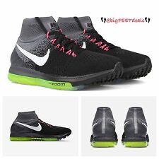 Nike Lab Zoom All Out Flyknit RARE Size 15 HTM Racer Running Air Max 95 OG Neon