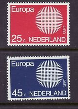 Netherlands # 483-84 MNH Complete 1970 EUROPA Issue