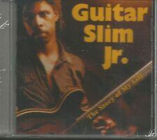 GUITAR SLIM JR.  the Story of My Life OUT OF PRINT 1989 USA 10 SONGS SEALED jr