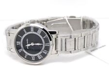 Pierre Cardin Ladies Classic Calendar Bracelet Watch PC104692F05 Stainless Black