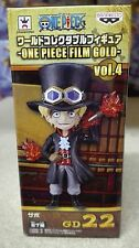 ONE PIECE WCF FILM GOLD Vol. 4 SABO FIGURA FIGURE 22 NEW NUEVA