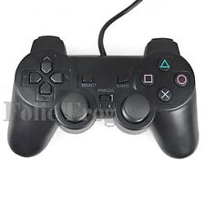 Best Sale Simple Black Gaming Controller For Playstation 2 PS2 Economic ZON
