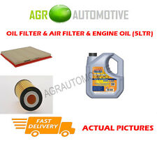 GAS OIL AIR FILTER + LL 5W30 OIL FOR VAUXHALL ZAFIRA TOURER 1.6 150 BHP 2011-