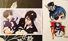 Kuroshitsuji Black Butler-CIEL SEBASTIAN ALOIS CLAUDE Postcard Photo Card Set #H