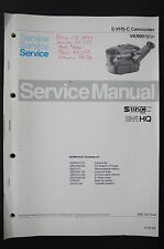 PHILIPS VKR9015 S-VHS-C Original Service-Manual/Anleitung/Schaltplan/Diagram o88