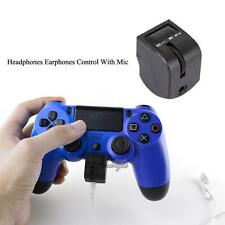 3.5mm Audio Jack Joystick Headphone Adapter for Sony PlayStation4 PS4 Controller
