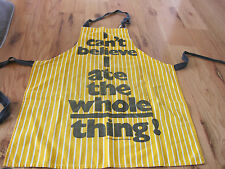 "I CAN""T BELEIVE I ATE THE WHOLE THING Retro Apron Designs San Francisco"