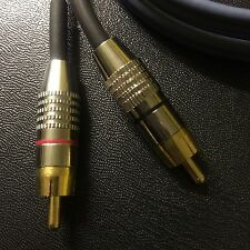 technics 1200 turntable RCA cable With Ground Wire Upgrade mk2 m3d mk5 DJ