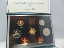 UK British 1985 Proof 7 Coin Collection set