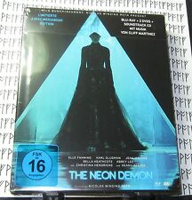 The Neon Demon Blu-Ray Mediabook ~ 4 Discs + Book ~ Region B ~ Brand New