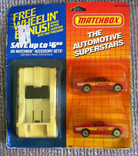MATCHBOX AUTOMOTIVE SUPERSTARS 2 PACK + BONUS LAUNCHER MERCEDES + MERCEDES