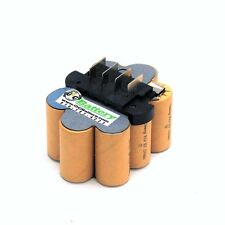 Ridgid 12 Volt 130254001 Battery Replacement Internals TENERGY 2.2Ah NiCd
