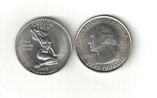 OREGON NUDE SEXY BUSTY GIRL WOMAN LADY STATE QUARTER NOVELTY COIN TOKEN BEAVER