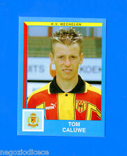 FOOTBALL 2000 BELGIO Panini-Figurina -Sticker n. 282 - CALUWE - MEKELEN -New