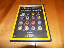 NATIONAL GEOGRAPHIC BRAIN GAMES Brains Functions Workings Work Study 2 DVD Set