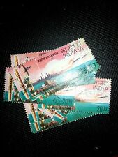 lot of 25 commemorative Indian stamp, used!! 20 rupees!!